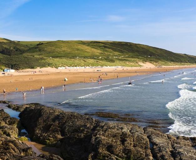 Sandy Beaches Devon Uk
